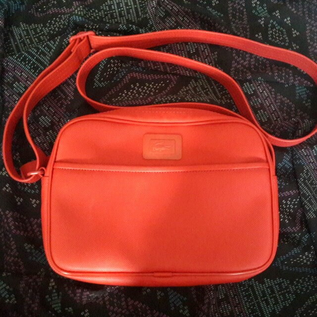 Lacoste Red Sling Bag