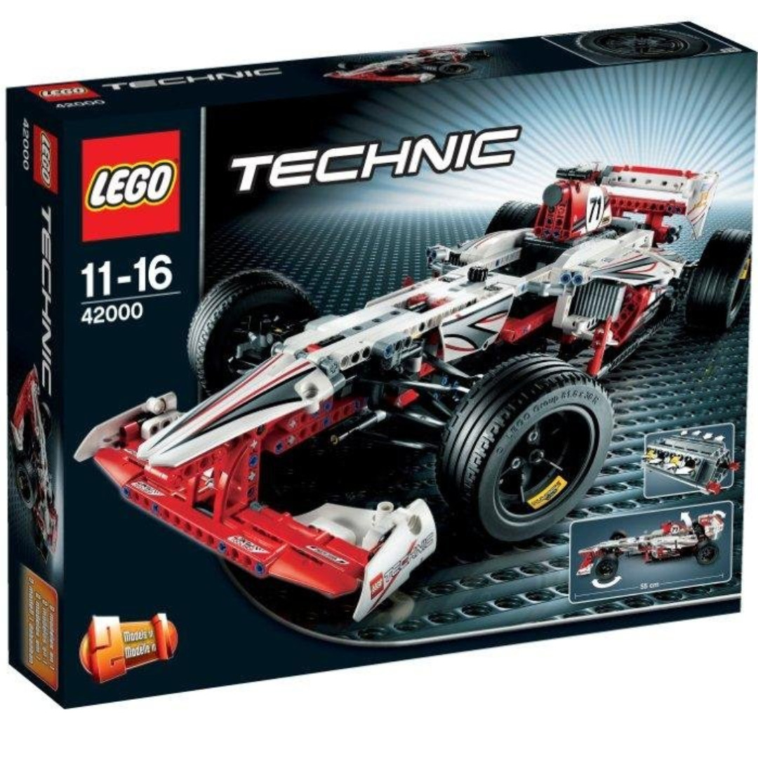 Wtt Wts Lego 42000 F1 Race Car Link 42056 Toys Games Bricks Technic Tractor 9393 Photo