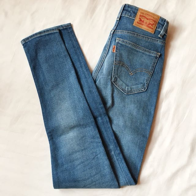 LEVI'S Orange Tab 721 Vintage High Rise Skinny Jeans