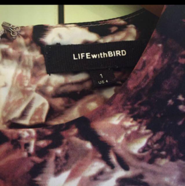 Life with Bird dress size 1 (Au8)