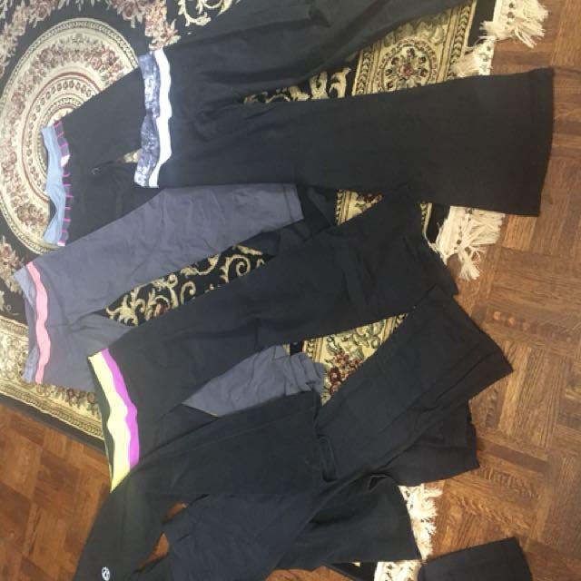Lululemon pants sizes 4 and 6