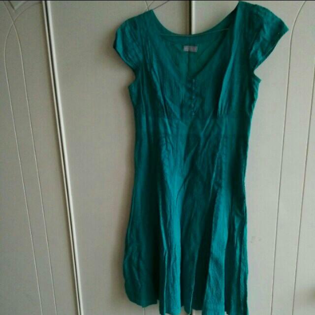 M & S Eyelet Dress