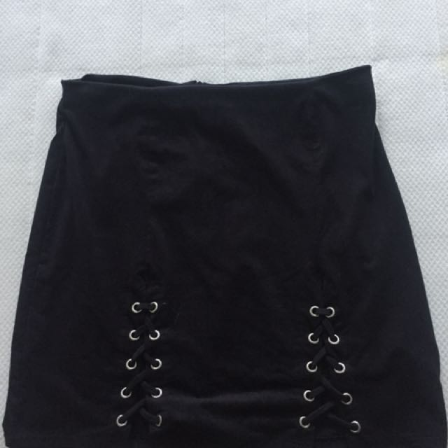 M boutique black skirt