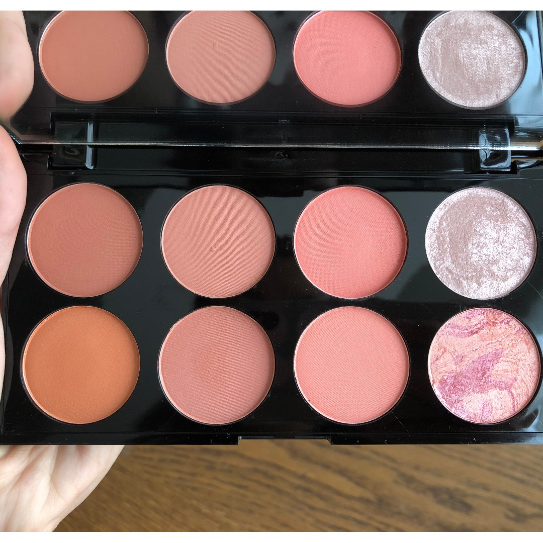 Makeup Revolution Ultra Blush 8 Shade Palette Hot Spice