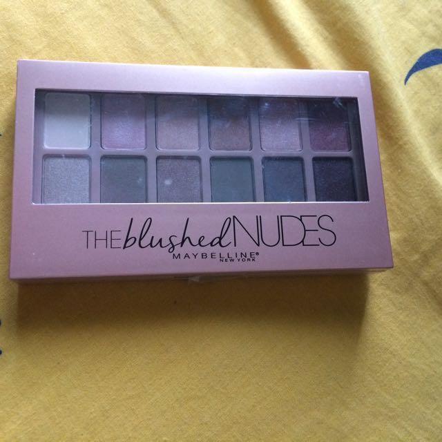 MAKEUP SET - Maybelline The Blushed Nudes, Purbasari Lipstick Color Matte, Etude House Dear Darling Tint ORIGINAL