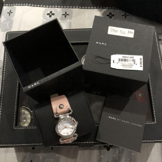 Marc jacob pink watch