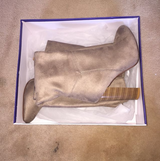 Marco Gianni knee high suede boots