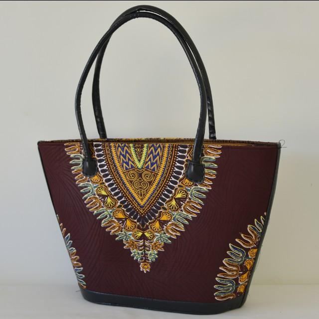 Maroon Afrix Hand Bag