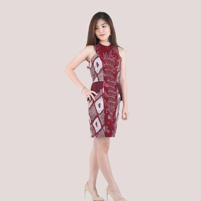 MERLOT DRESS 2