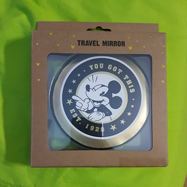 Mickey Mouse Travel Mirror from Typo