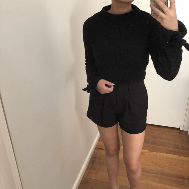 Misguided Black Jumper