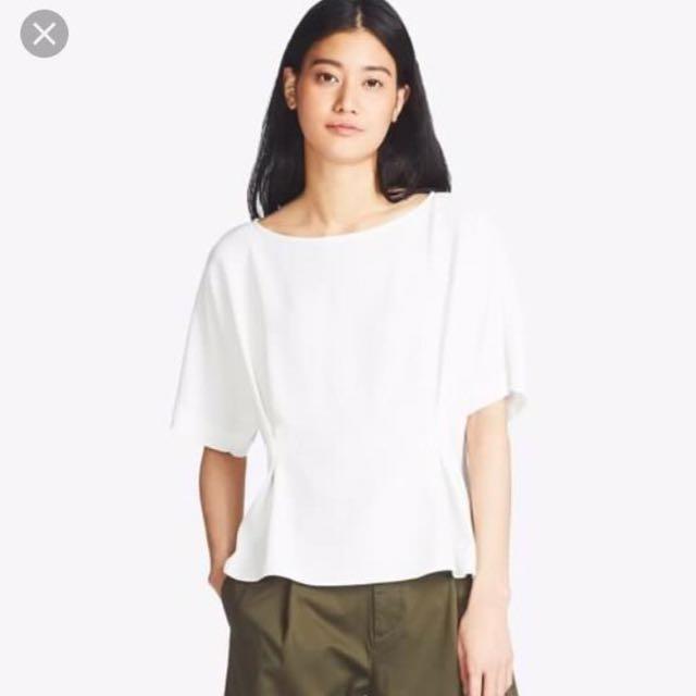 New uniqlo drape shirt