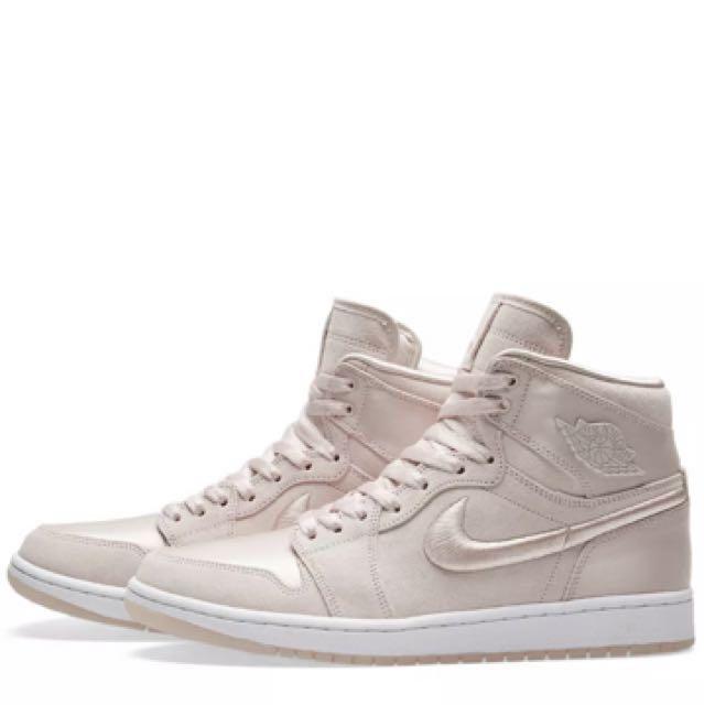 GoldWomen's Air FashionShoes 1 Rose Her Of Season On Nike Jordan 9DWIEH2