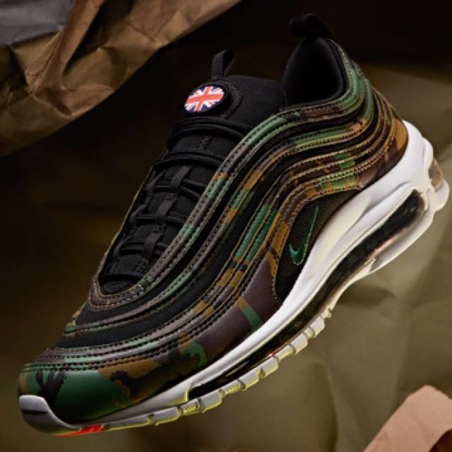 321f9d53 NIKE AIR MAX 97 'COUNTRY CAMO', Men's Fashion, Footwear, Sneakers on ...