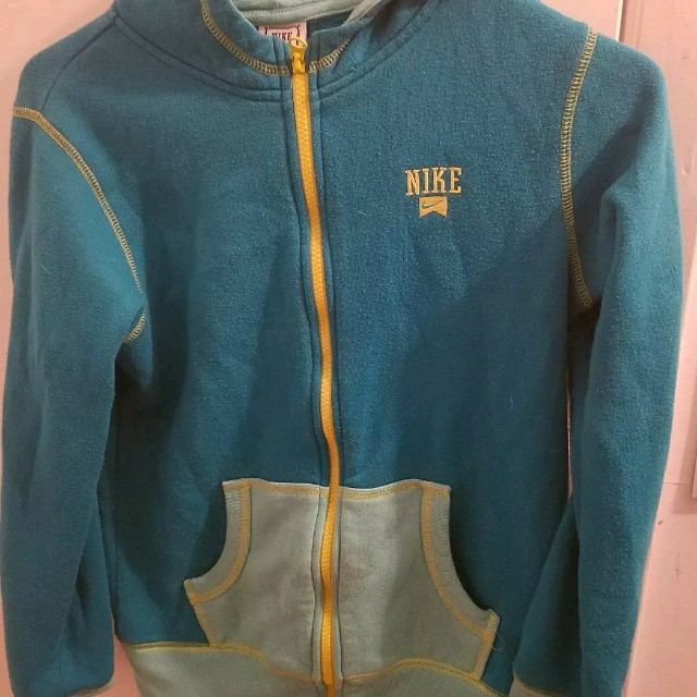 Nike Athlete Kids Hoodie Large Sky Blue Size 12-13
