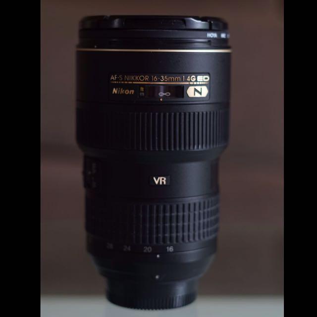 Nikkor Lens 16-35 mm f4 Nano Coating