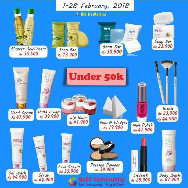 oriflame februari discount