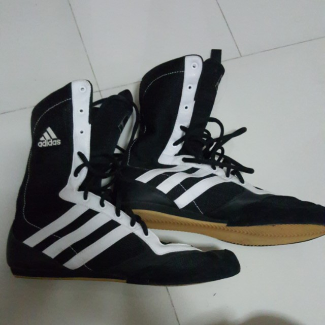 the best attitude a3397 94441 original adidas box hog boxing shoes us size 9 1518002497 76d32445.jpg