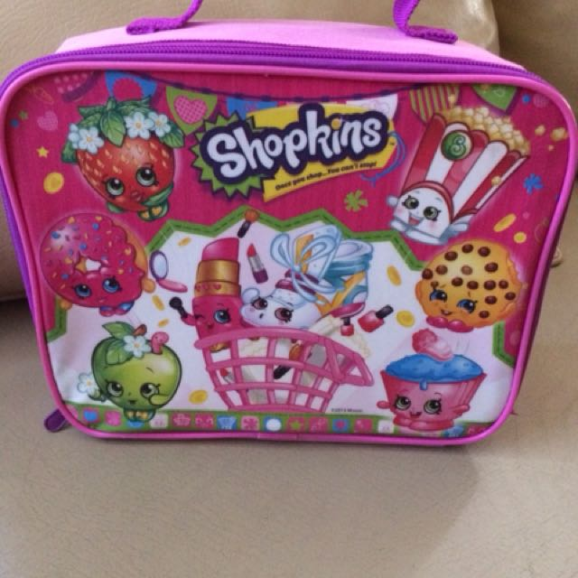 Original Shopkins Lunchbag from U.S.