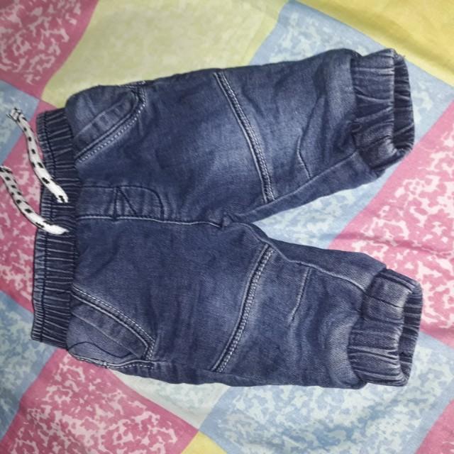 Pants soft denim