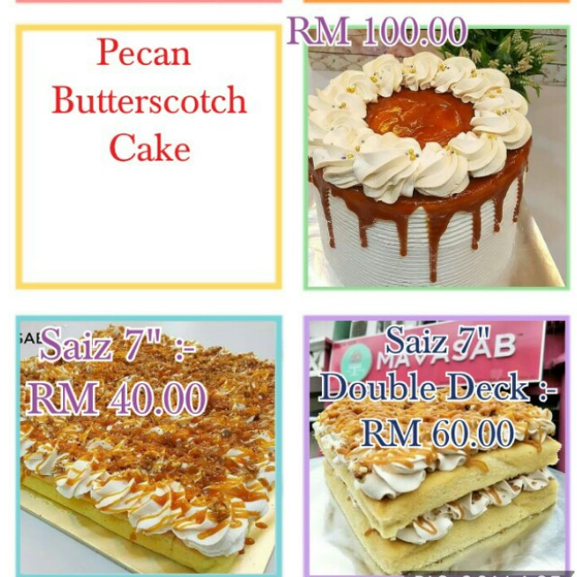 Pecan Butterscotch Lover by Sabrina Bakery