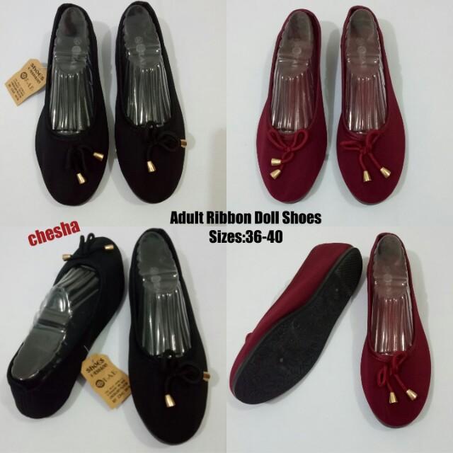Plain Doll Shoes For Women