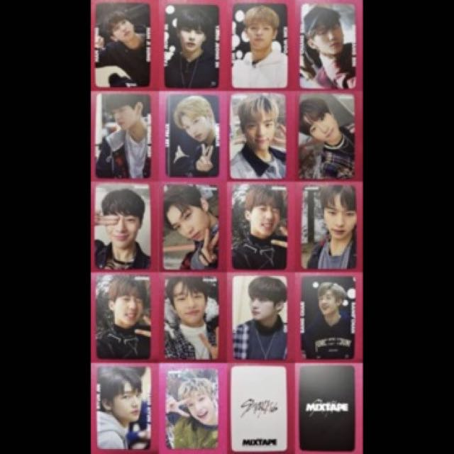 PO] Stray Kids MIXTAPE Pre-Debut Official Photocard Set