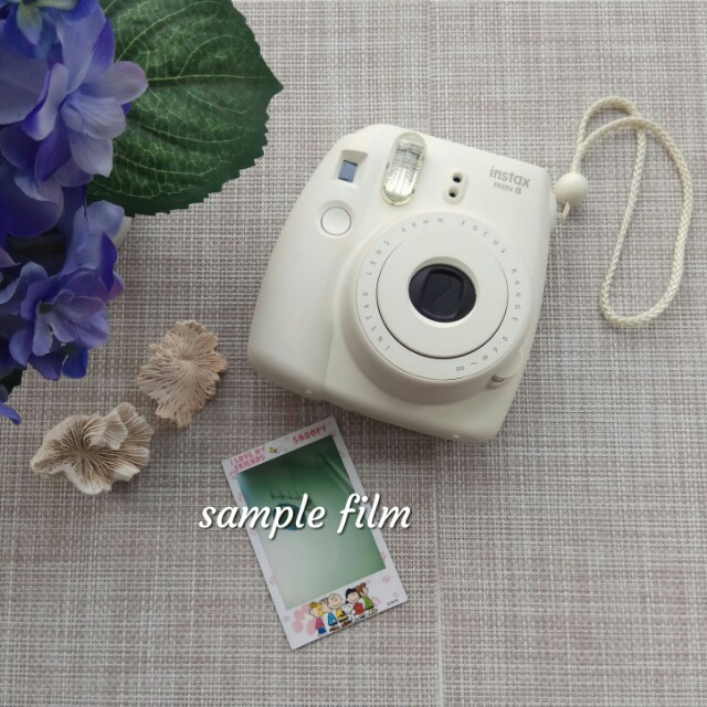 Preloved - Fujifilm instax mini 8 Instant Film Camera (White)