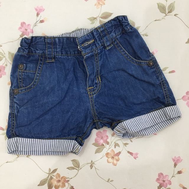 Preloved Kid's Planet Baby Jeans Shorts