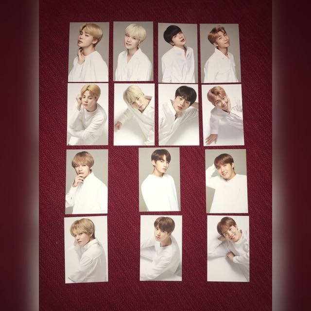 (READY STOCK)BTS Think Your Teeth PC