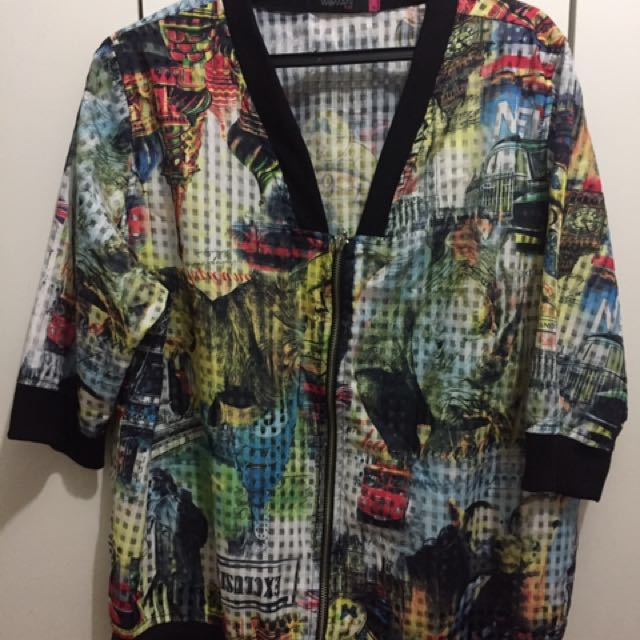 REPRICED: Plus size bomber jacket