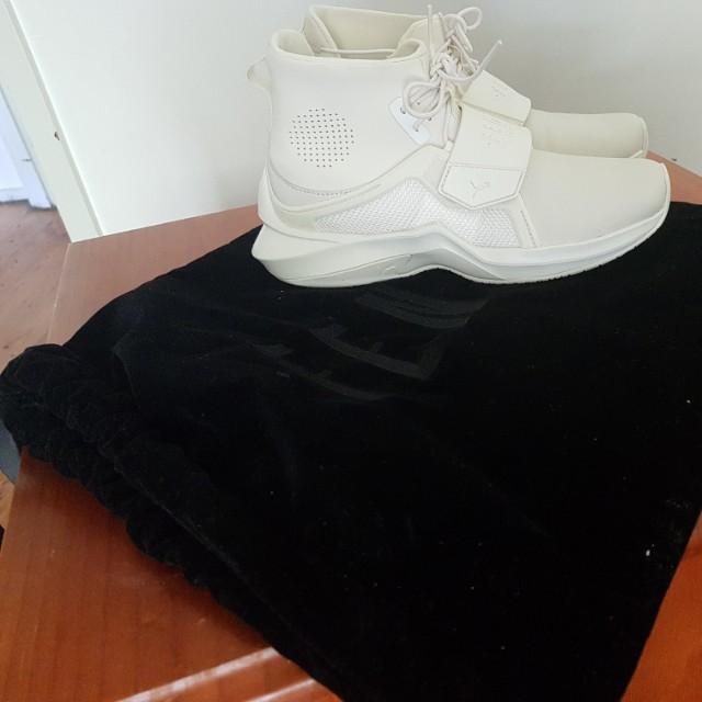 Rihanna fenty cream sneakers