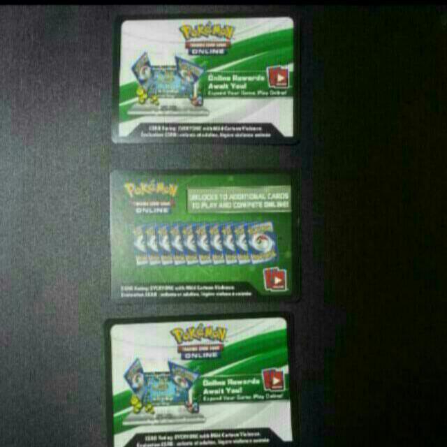 Selling Pokemon TCG Online Code