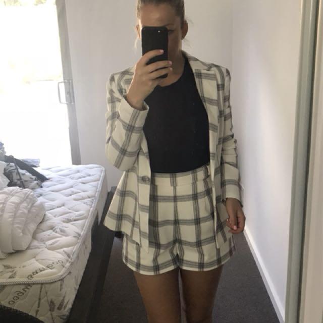 Sheike linen jacket
