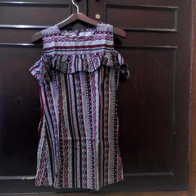short dress marrone
