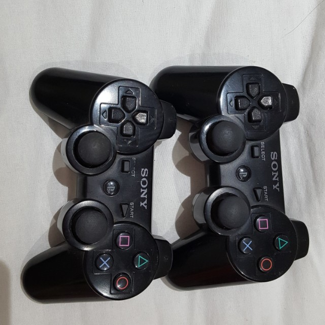 Sony black controllers