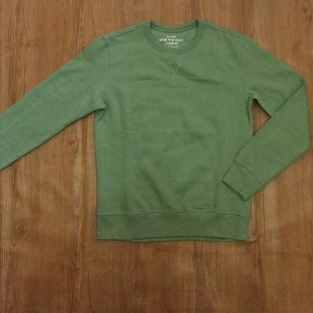 SPAO Sweatshirt Olive Original