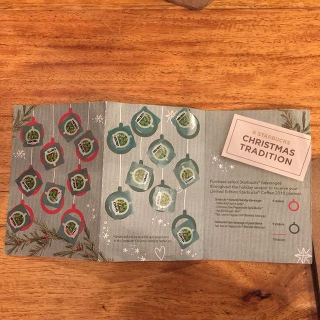 Starbucks Planner Stickers