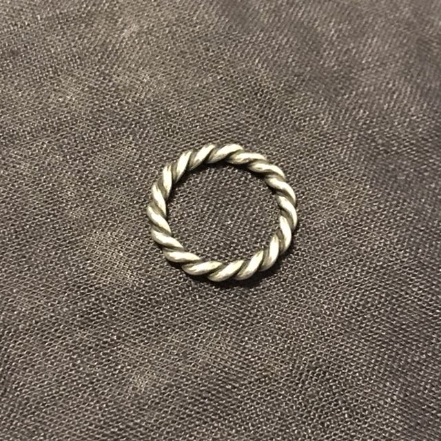 Sterling silver Pandora ring (size 5)