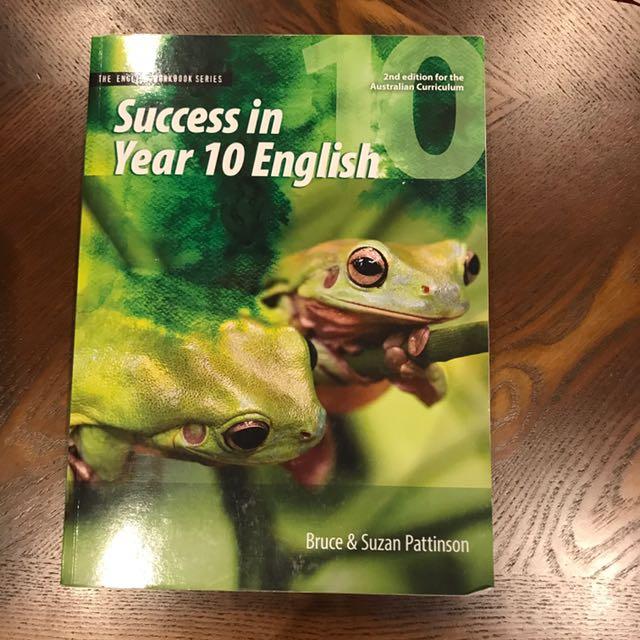 Success in Year 10 English Workbook