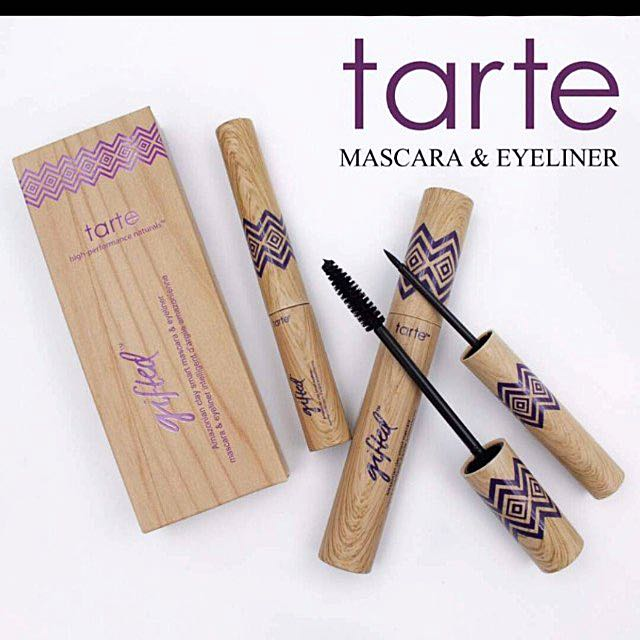 a16d80197e6 Tarte Gifted Mascara Eyeliner Amazonian Clay 2 in 1 Set, Health & Beauty,  Makeup on Carousell