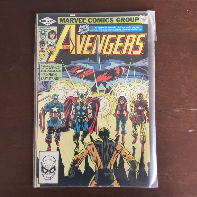 The Avengers #217