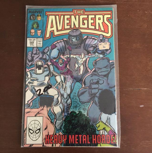 The Avengers #289