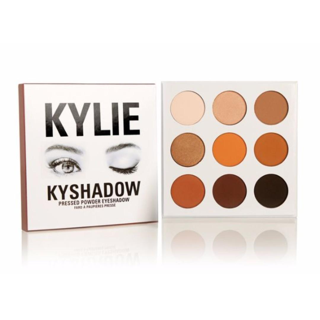 The Bronze Palette Kylie Cosmetics Kyshadow
