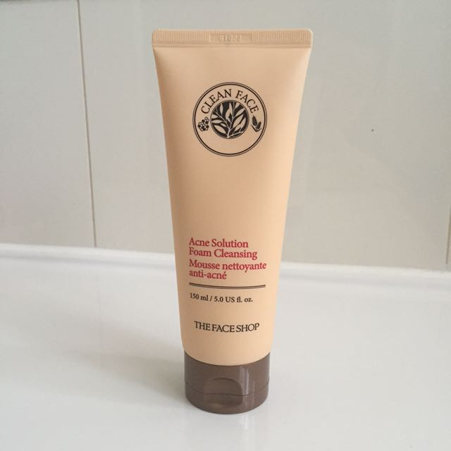 THEFACESHOP Acne Solution Foam Coeanser