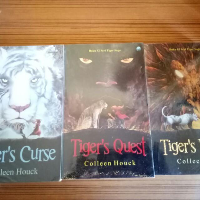 Tiger's Curse, Tiger's Quest, Tiger's Voyage (Tiger's Saga) - Colleen Houck
