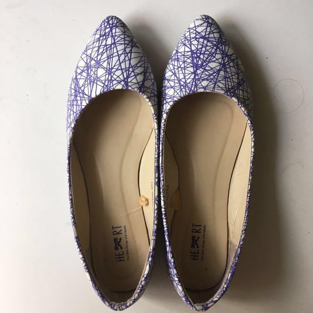 TLTSN Geometry Flat Shoes