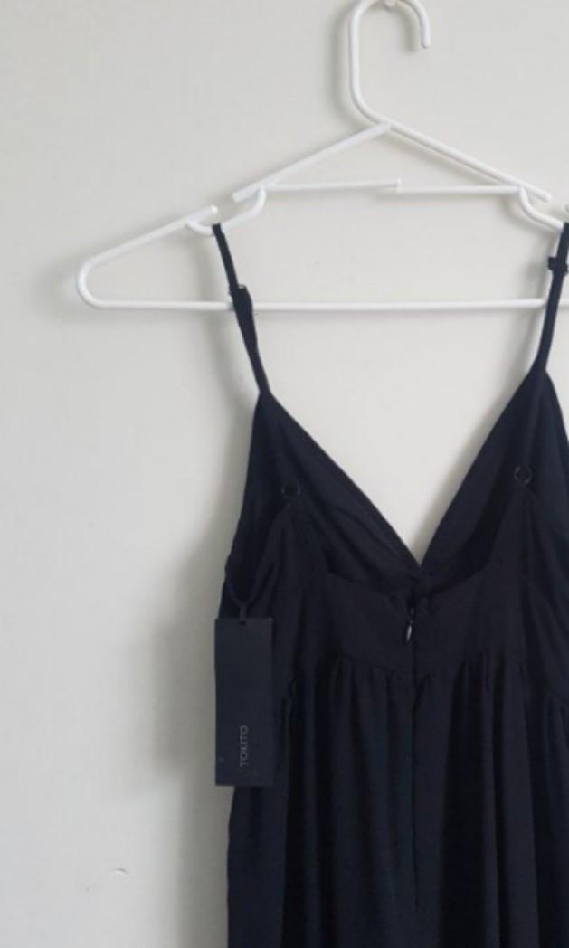 Tokito Black Chiffon Dress