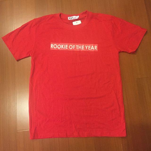 全新💫紅色T-shirt #大掃除五折