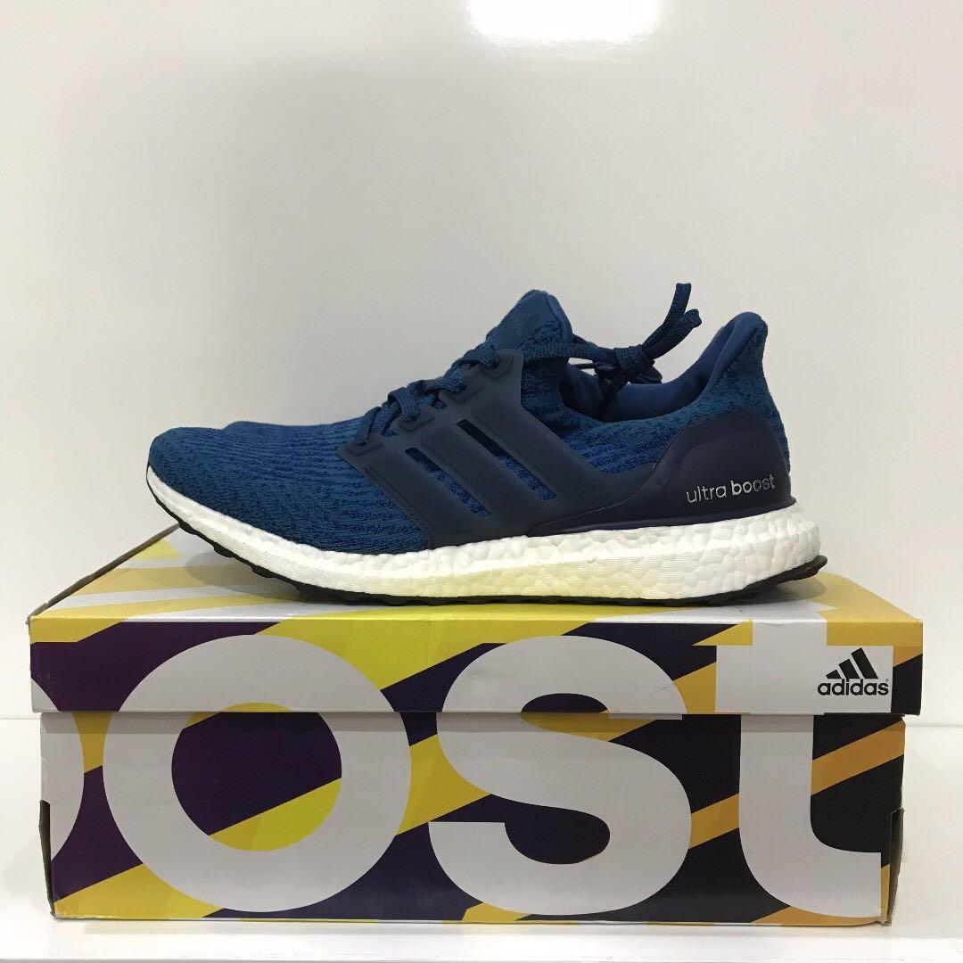 ef7fe61723729 UK8 - Adidas Ultra Boost 3.0 Blue